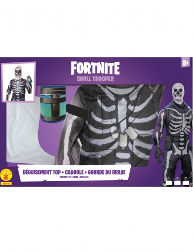 Coffret classique Skull Trooper Fortnite™ adolescent-3