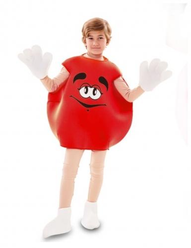 Déguisement de bonbon rouge enfant-1