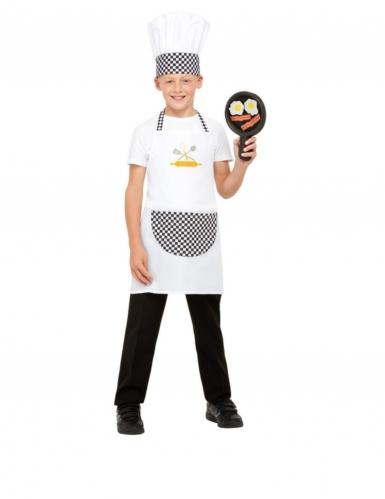 Kit cuisinier blanc enfant
