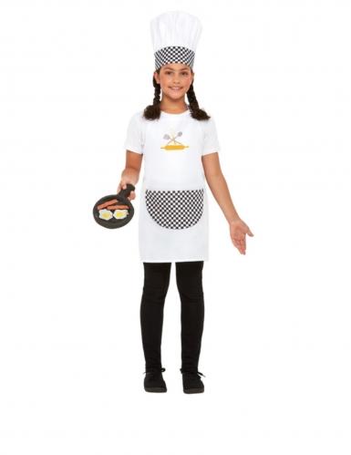 Kit cuisinier blanc enfant-1