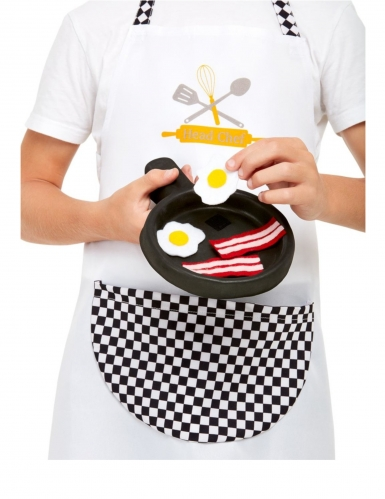 Kit cuisinier blanc enfant-2