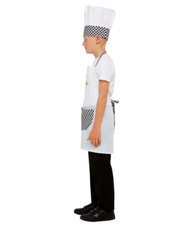 Kit cuisinier blanc enfant-4