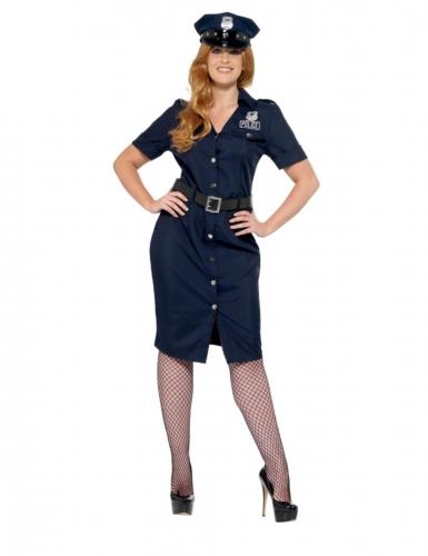 Déguisement policière NYC grande taille femme