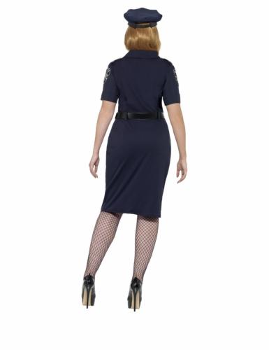 Déguisement policière NYC grande taille femme-1