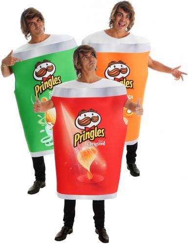 Déguisement de groupe Pringles™ paprika, original et oignon