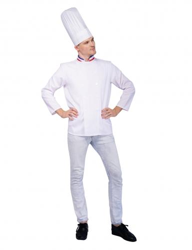 Déguisement chef cuisinier Français adulte