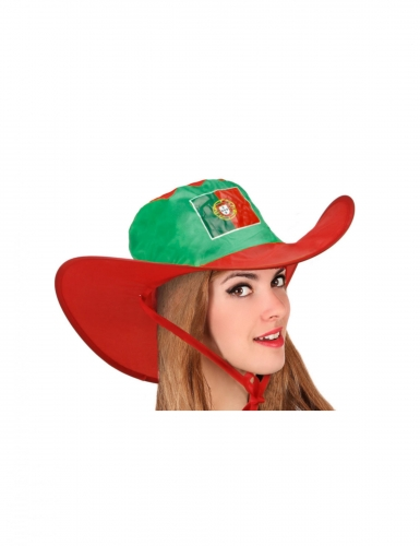 Chapeau supporter Portugal adulte