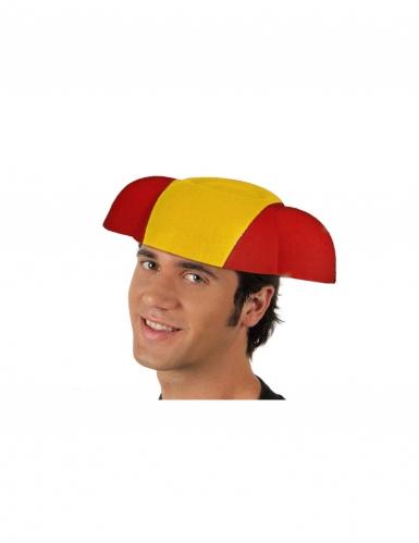 Chapeau torero drapeau Espagne adulte