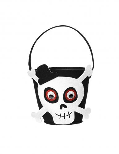 Panier tête de squelette