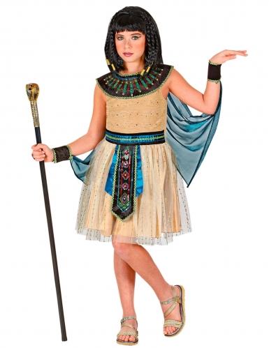 Déguisement robe reine égyptienne fille