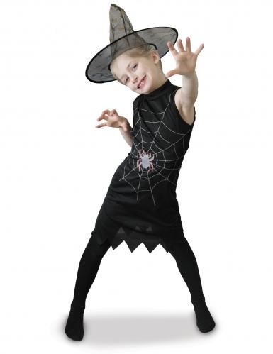 Déguisement sorcière avec chapeau fille