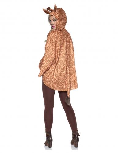 Tunique à capuche girafe femme-1