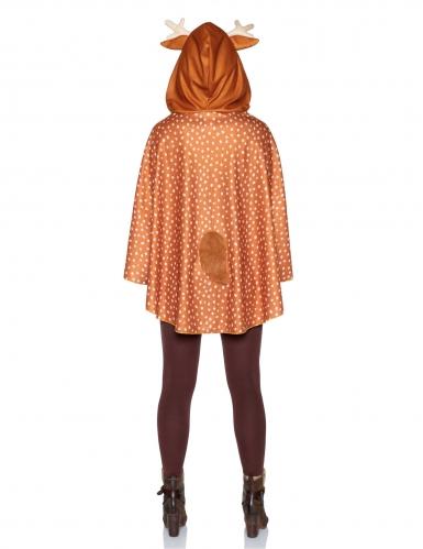 Tunique à capuche cerf femme-1