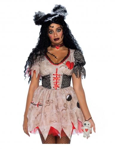 Déguisement poupée vaudou femme-2