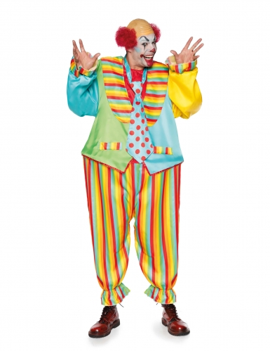 Déguisement clown magic circus homme