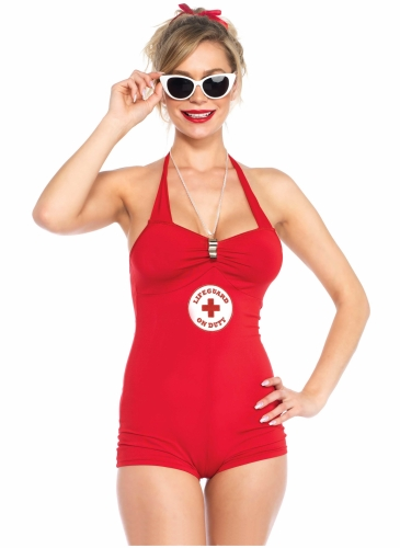 Déguisement combishort lifeguard sexy femme-1