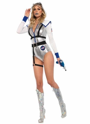 Déguisement luxe astronaute sexy femme-2