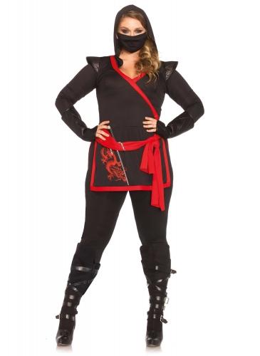 Déguisement luxe ninja grande taille femme