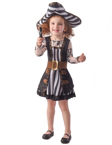 Déguisement pirate tatouée robe fille