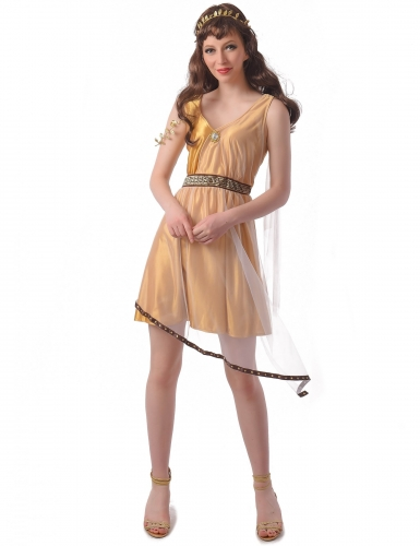 Déguisement romaine or femme