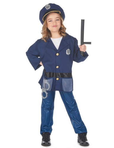 Déguisement veste policier enfant-3