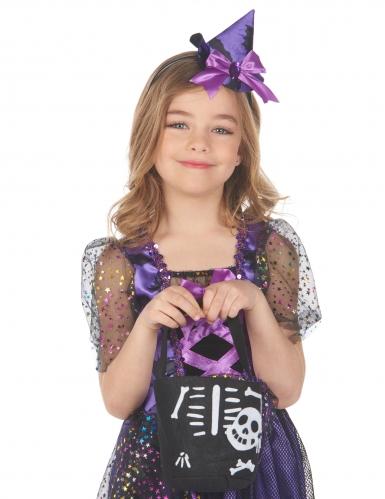 Sac Halloween squelette enfant