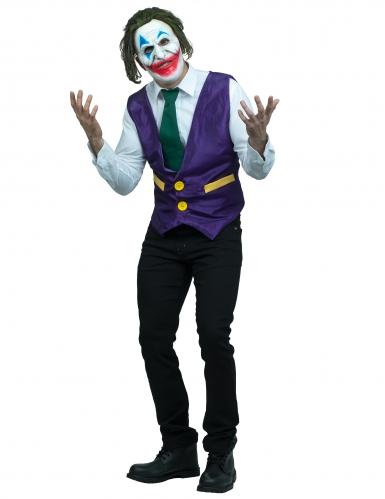 Déguisement clown sourire de l'ange adulte