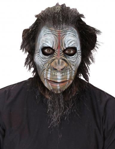 Masque singe guerrier adulte