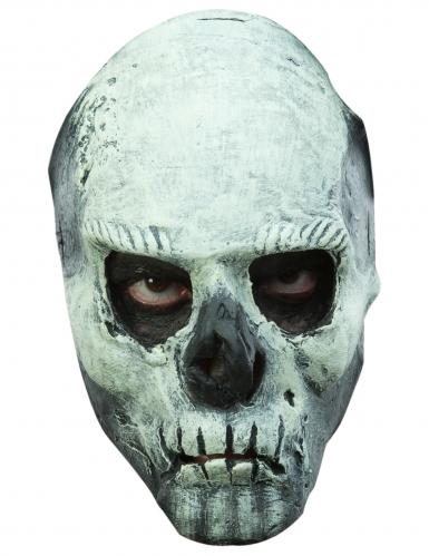 Masque squelette phosphorescent adulte