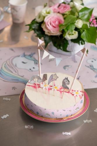 Décoration de gâteau licorne-1