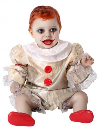 Déguisement clown effrayant bébé