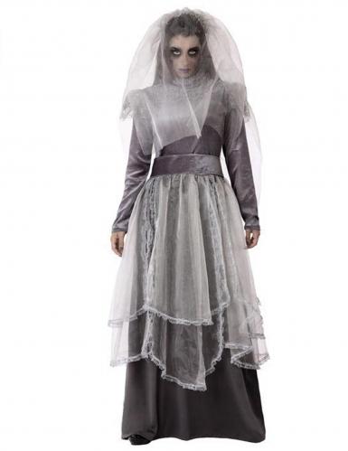 Deguisement Mariee Funebre Grise Femme Deguise Toi Achat De Deguisements Adultes