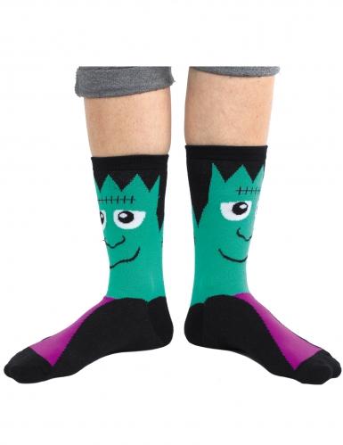 Chaussettes monstre effrayant-1