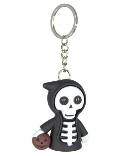 Porte clé squelette lumineux