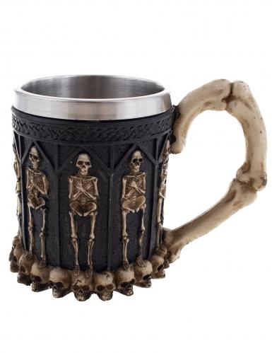 Mug squelette 12 cm