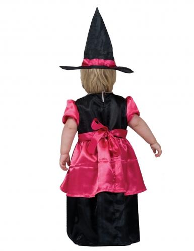 Déguisement sorcière rose bébé-1