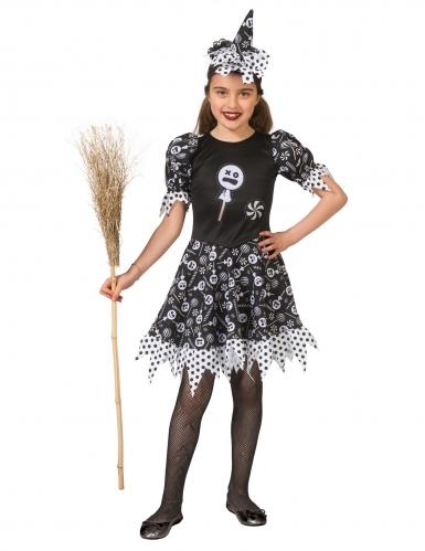 Déguisement sorcière candy fille-2