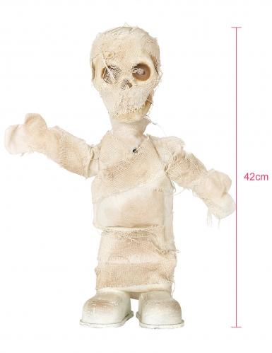 Décoration animée, lumineuse et sonore momie 42 cm-1