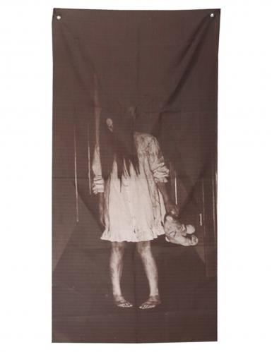 Décoration fille possédée 75 X 160 cm