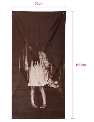 Décoration fille possédée 75 X 160 cm-1