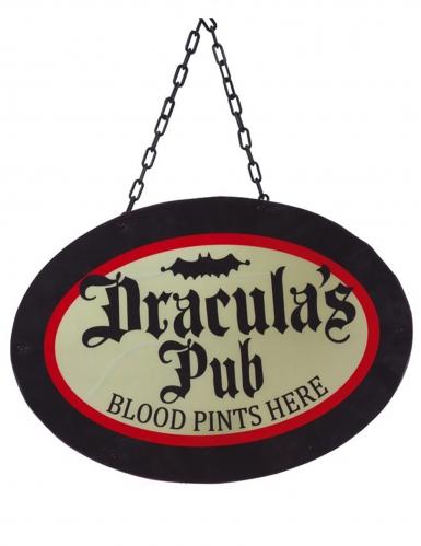 Décoration lumineuse Dracula's pub 47 x 33 cm