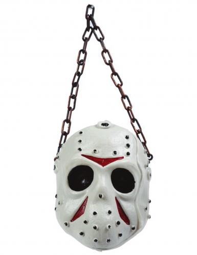 Décoration masque de hockey 36 cm