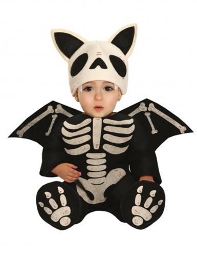 Déguisement squelette chauve-souris bébé
