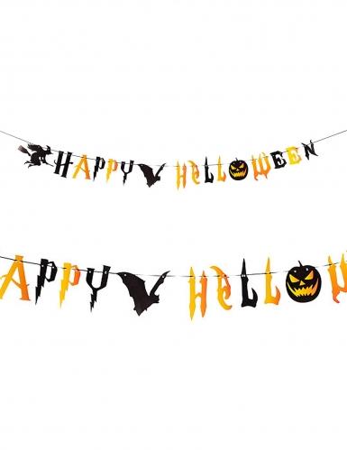 Guirlande effrayante Happy Halloween 250 cm