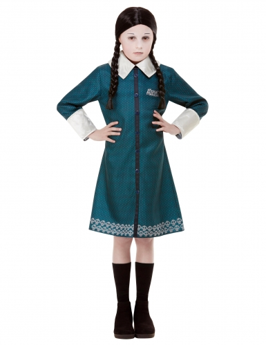 Déguisement Wednesday Famille Addams™ fille-1