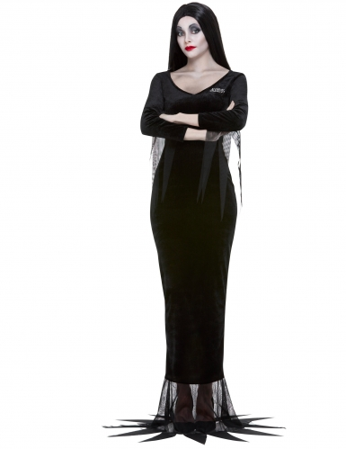 Déguisement Morticia Famille Addams™ femme-1