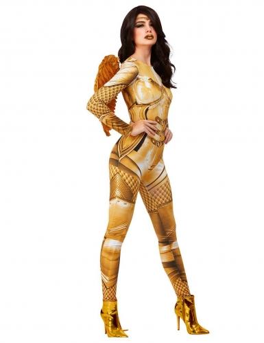 Déguisement ange gardien doré femme-1