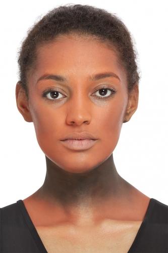 Kit maquillage citrouilles avec feuillage adulte-2