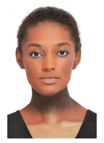 Kit maquillage et bijoux doré femme-3