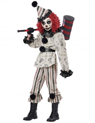 Déguisement clown sinistre enfant-1